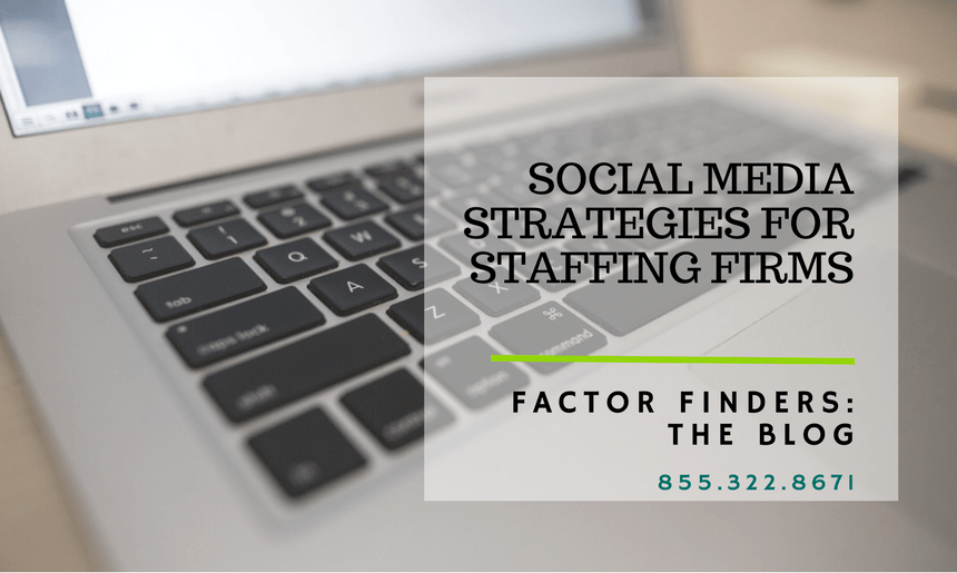 social media tips for staffing firms