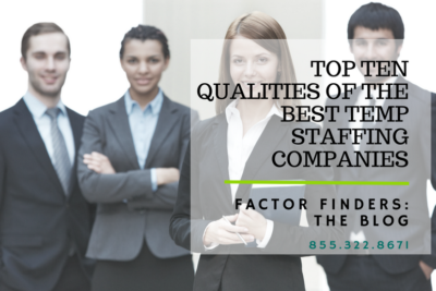 best qualities for temp staffing agency