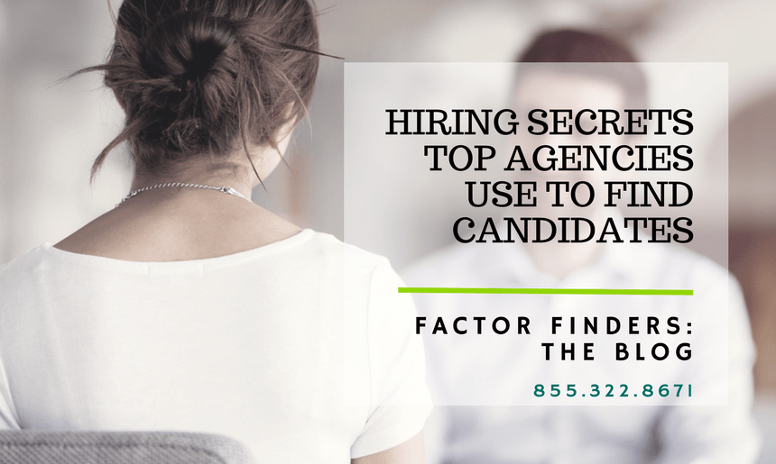 secrets to find candidates