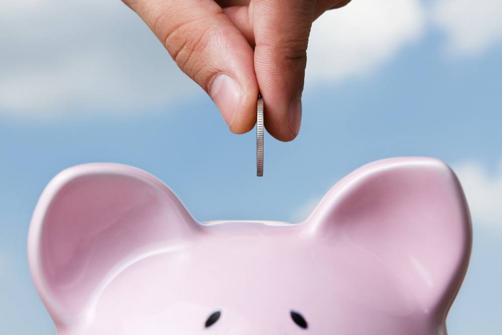 Funding for businesses piggy bank