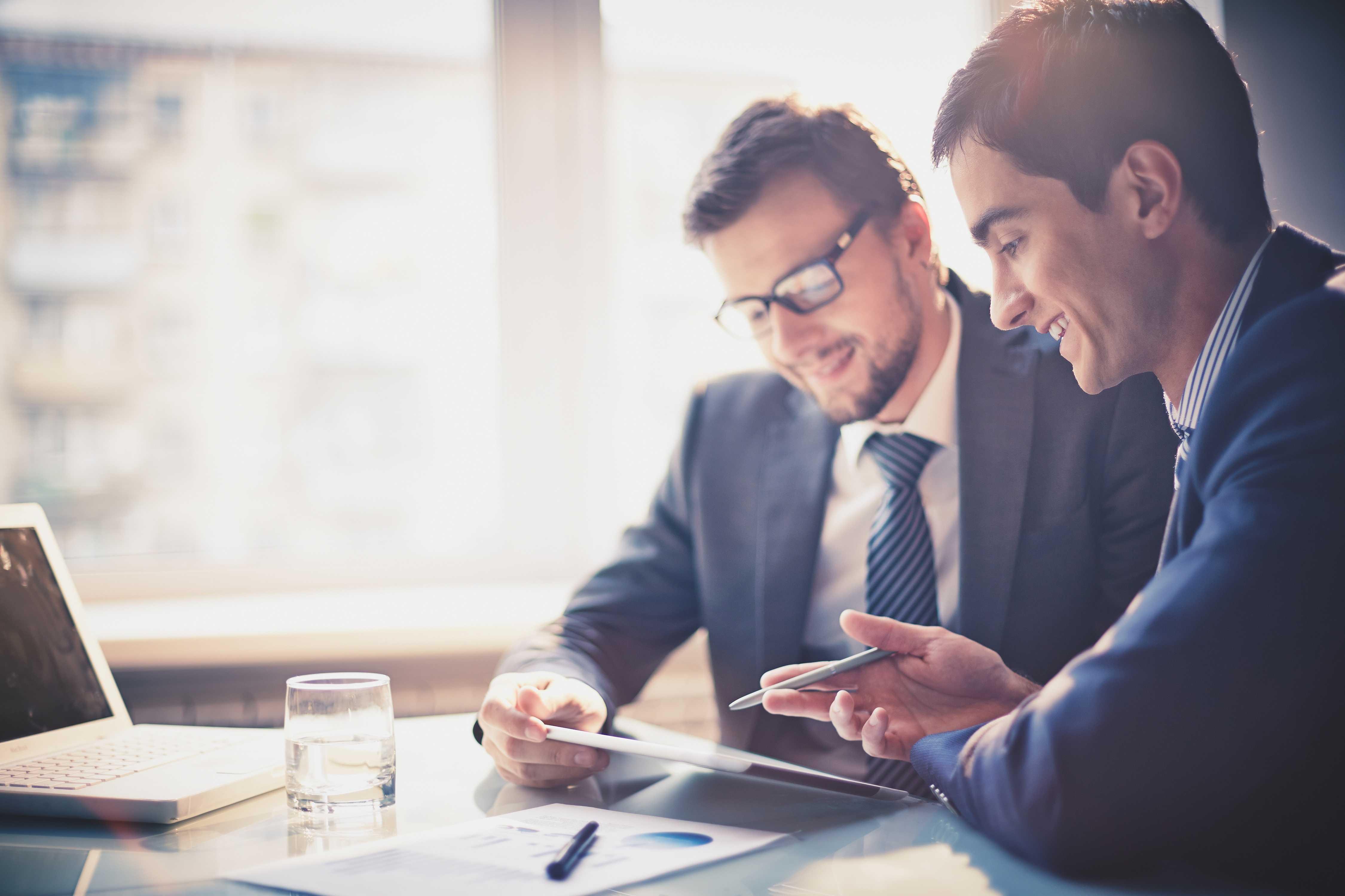 business men company services