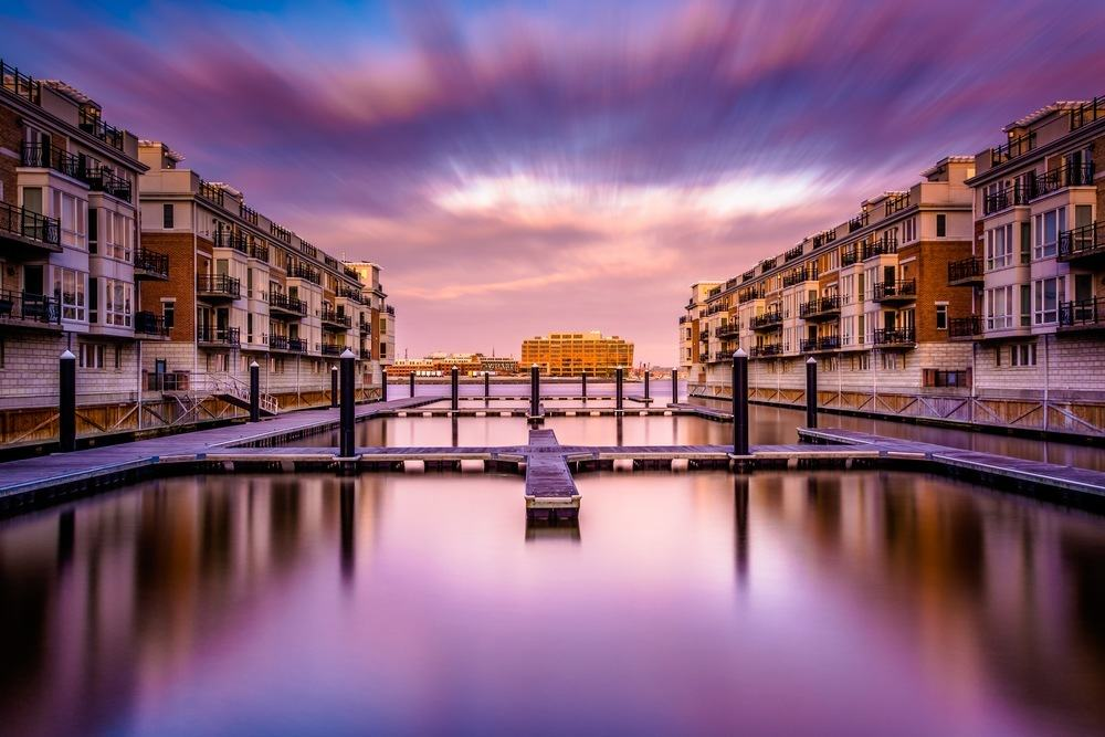Waterfront in Baltimore Maryland