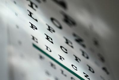 Eye examine chart