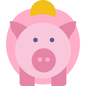 piggy bank funding icon 512