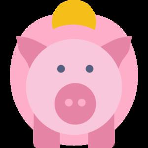 piggy bank funding icon 512