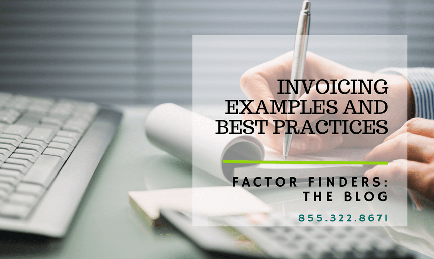 Invoicing Info and Examples