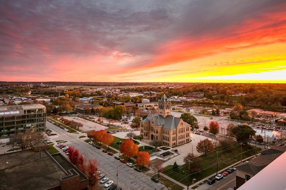 iowa city sunset