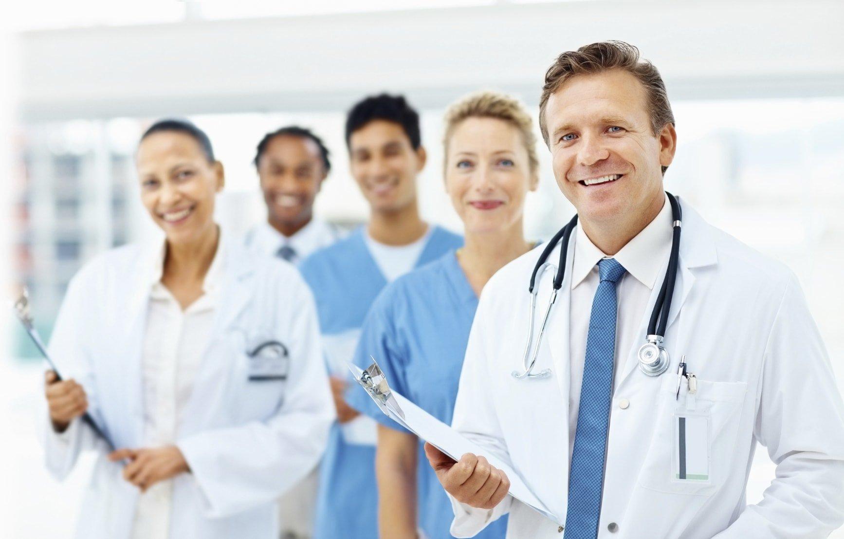 doctors medical team in hospital