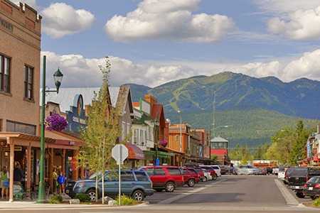 town in montana
