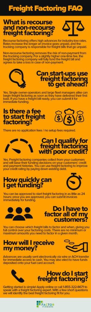 Freight Factoring FAQ