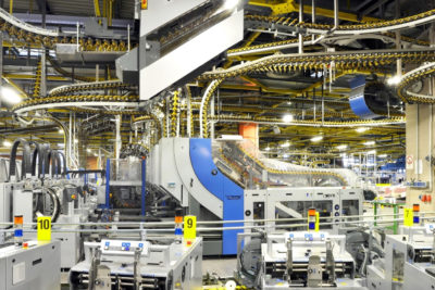 Manufacturing production